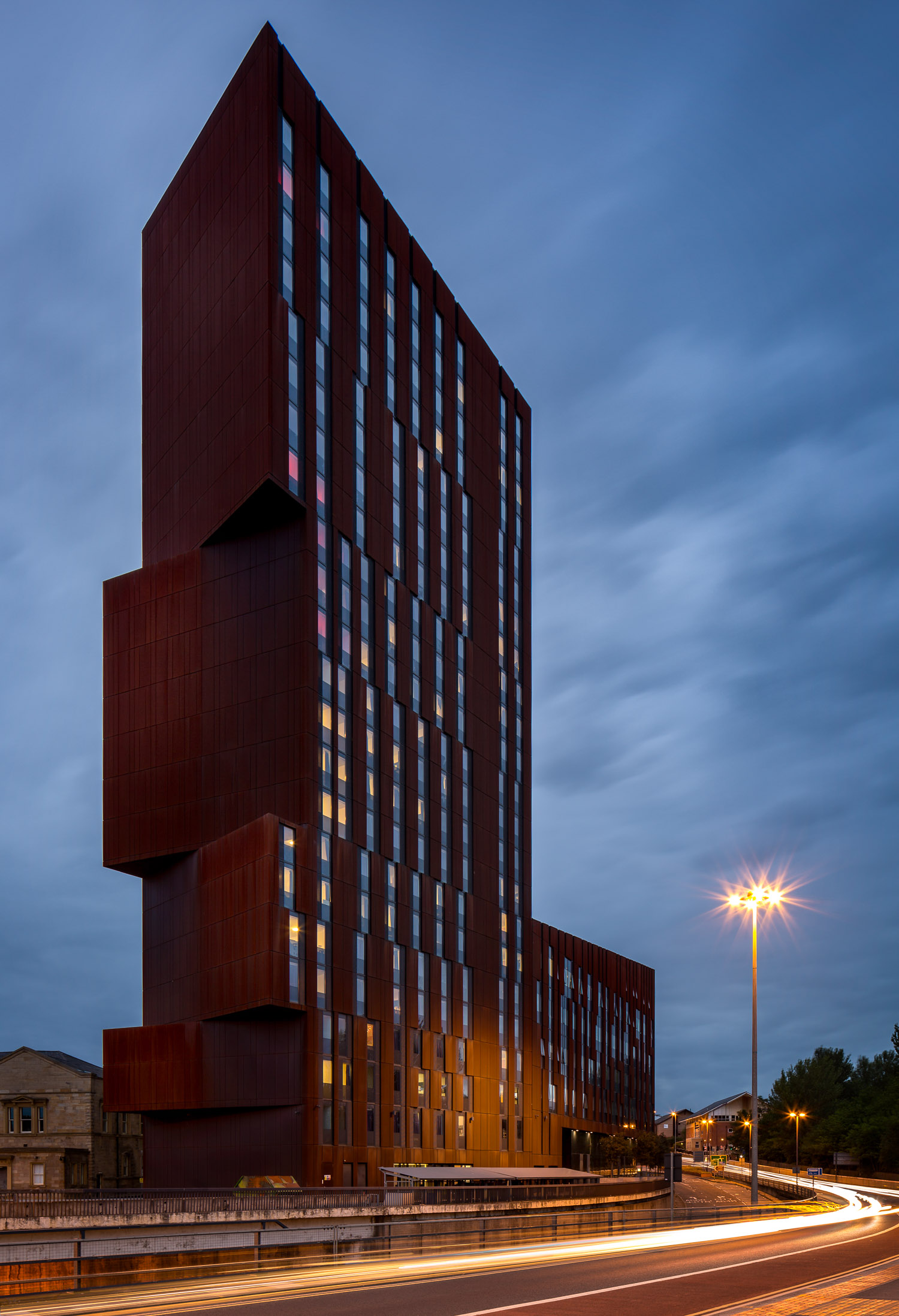 Broadcasting Tower, Leeds - Architectural Exterior Photography