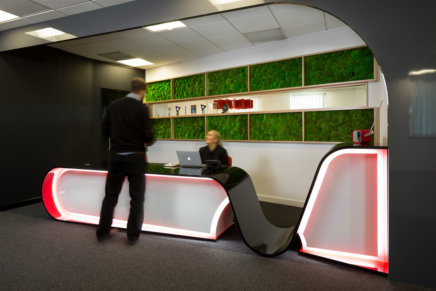 Visualsoft Beskpoke Reception Desk
