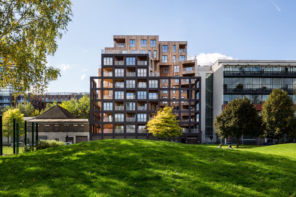 Wenlock Road housing flats development, London, UK exteriors gallery link thumbnail