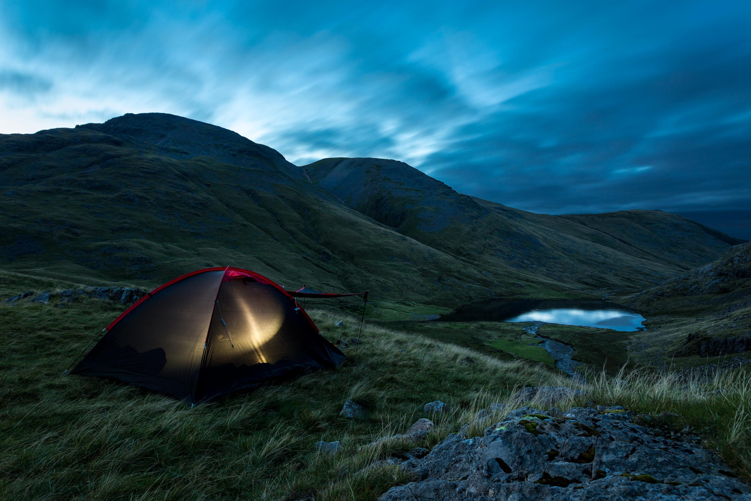 wild camping twilight lake district national park england uk landscape travel long exposure.jpg