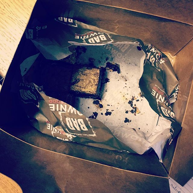 Thanks! @honeycomb_tv we're all a little bigger now. Very tasty! #media #manchester #tv #brownies