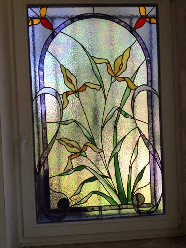 Création Vitrail Atelier Vitraux Flores