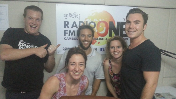 The live guests on Saturday Night Live Cambodia for Saturday January 16 were stand-up comedian and Magic Mike-wannabe   STEVO JOSLIN  , physiotherapist   MARK CHEN   and the CrossFit coaches   MIKE & JENNY TITZER  !