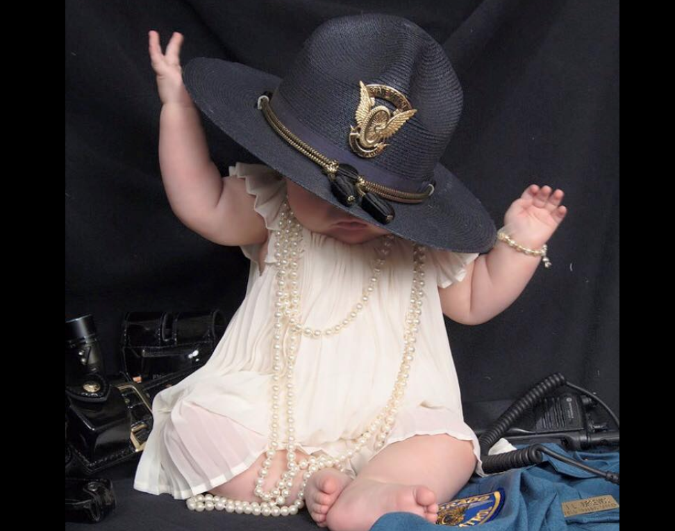 Heartbreaking Photo of Late Trooper's Baby Serves as Drunk Driving Warning
