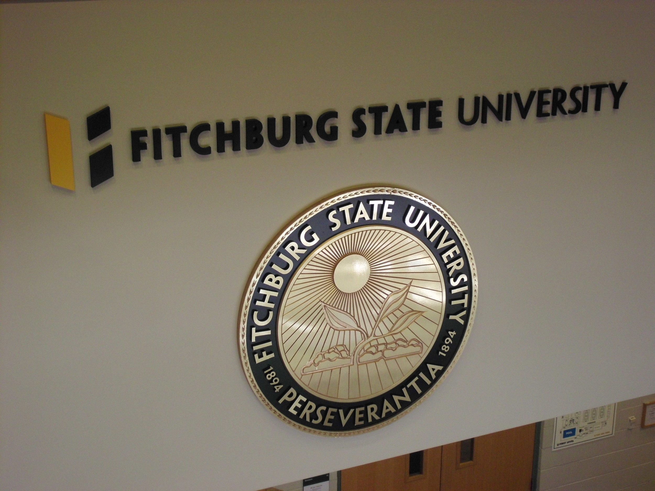 Fitchburg State University Seal.JPG