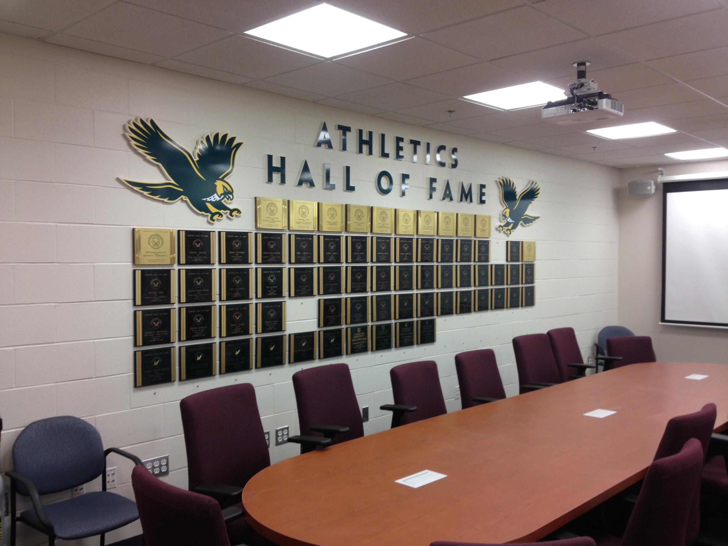 FSU Athletics Wall of Fame.JPG
