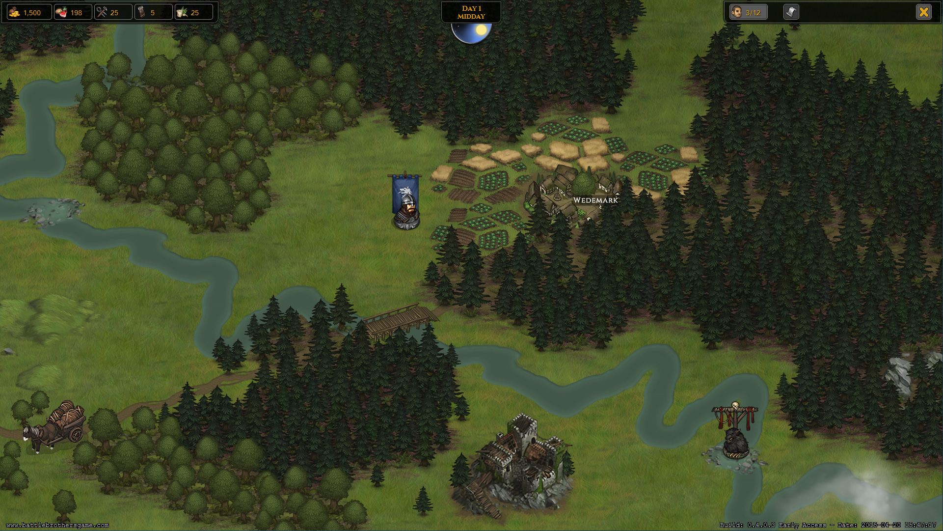 Battle Brothers - PC Game Review — Longsword