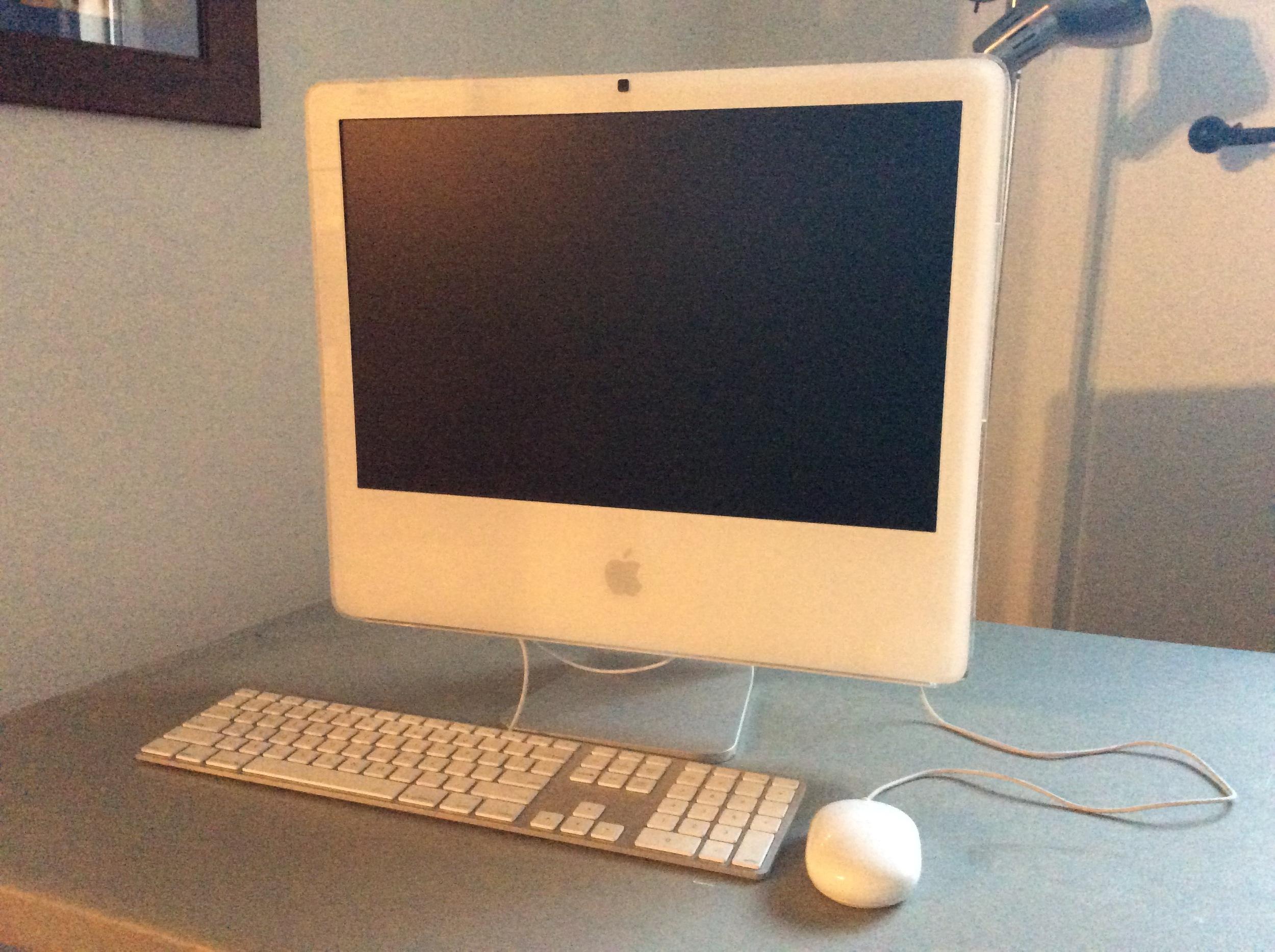 Repaired iMac