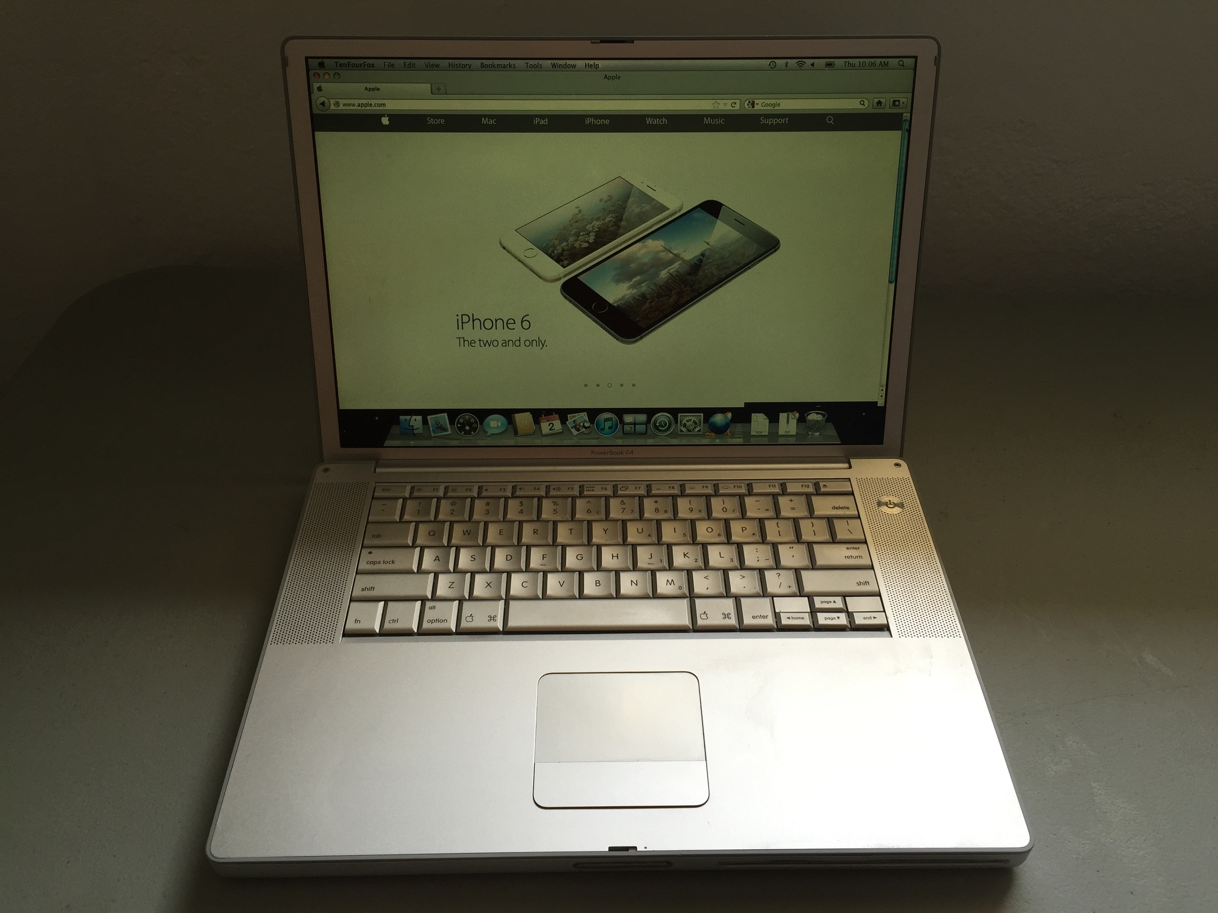 Mcbook Pro from 2008