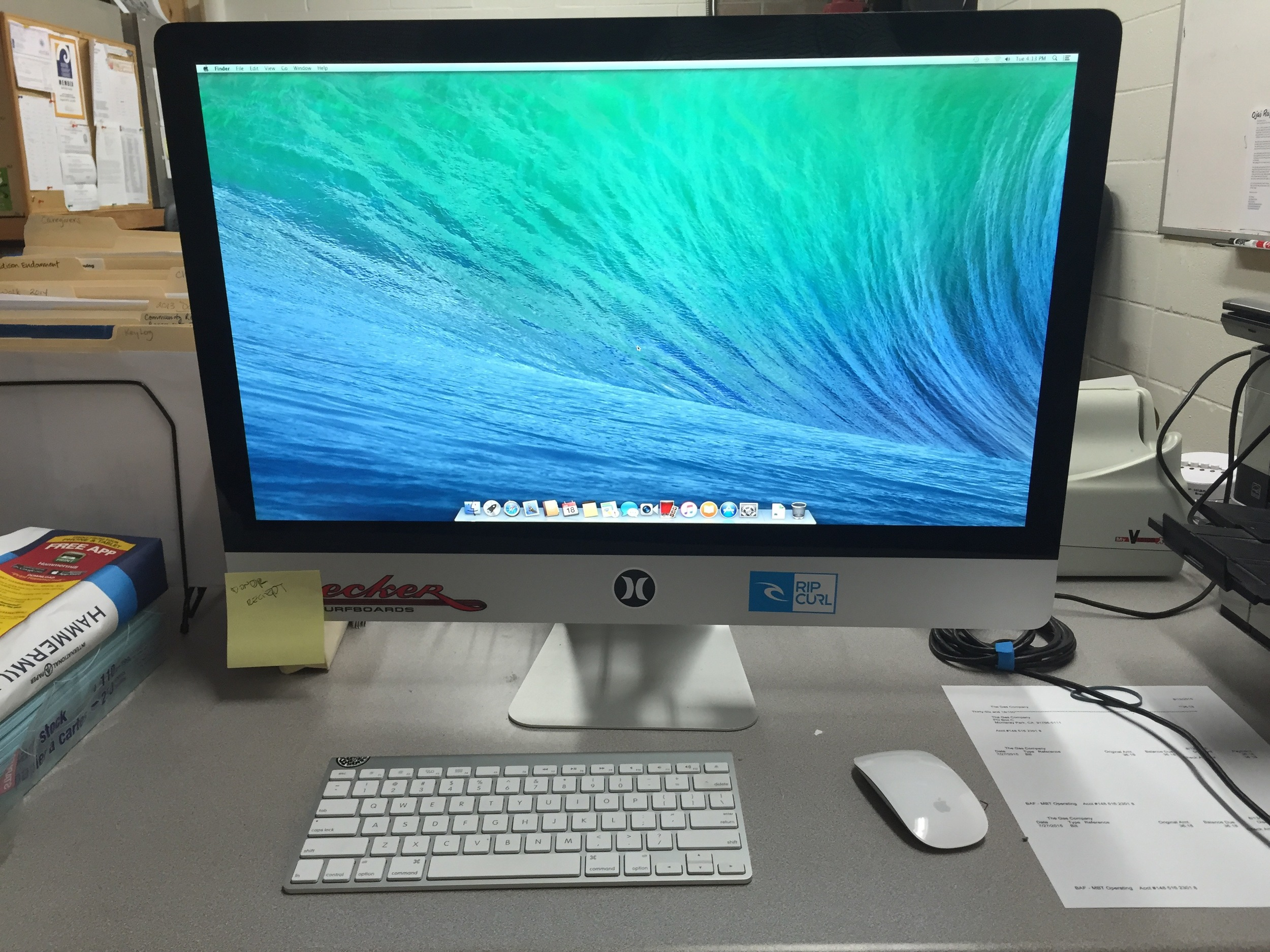 A donated iMac