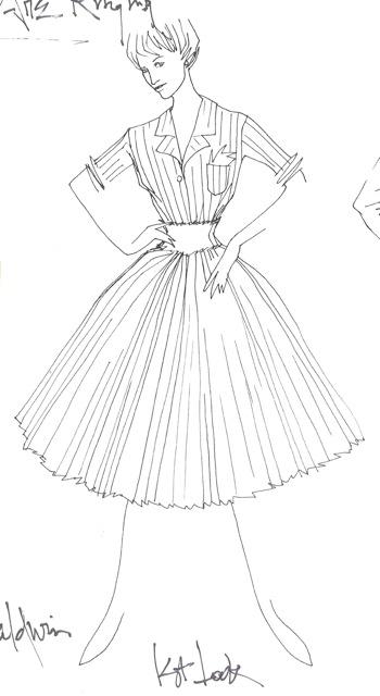 Sketch for Kate Burton