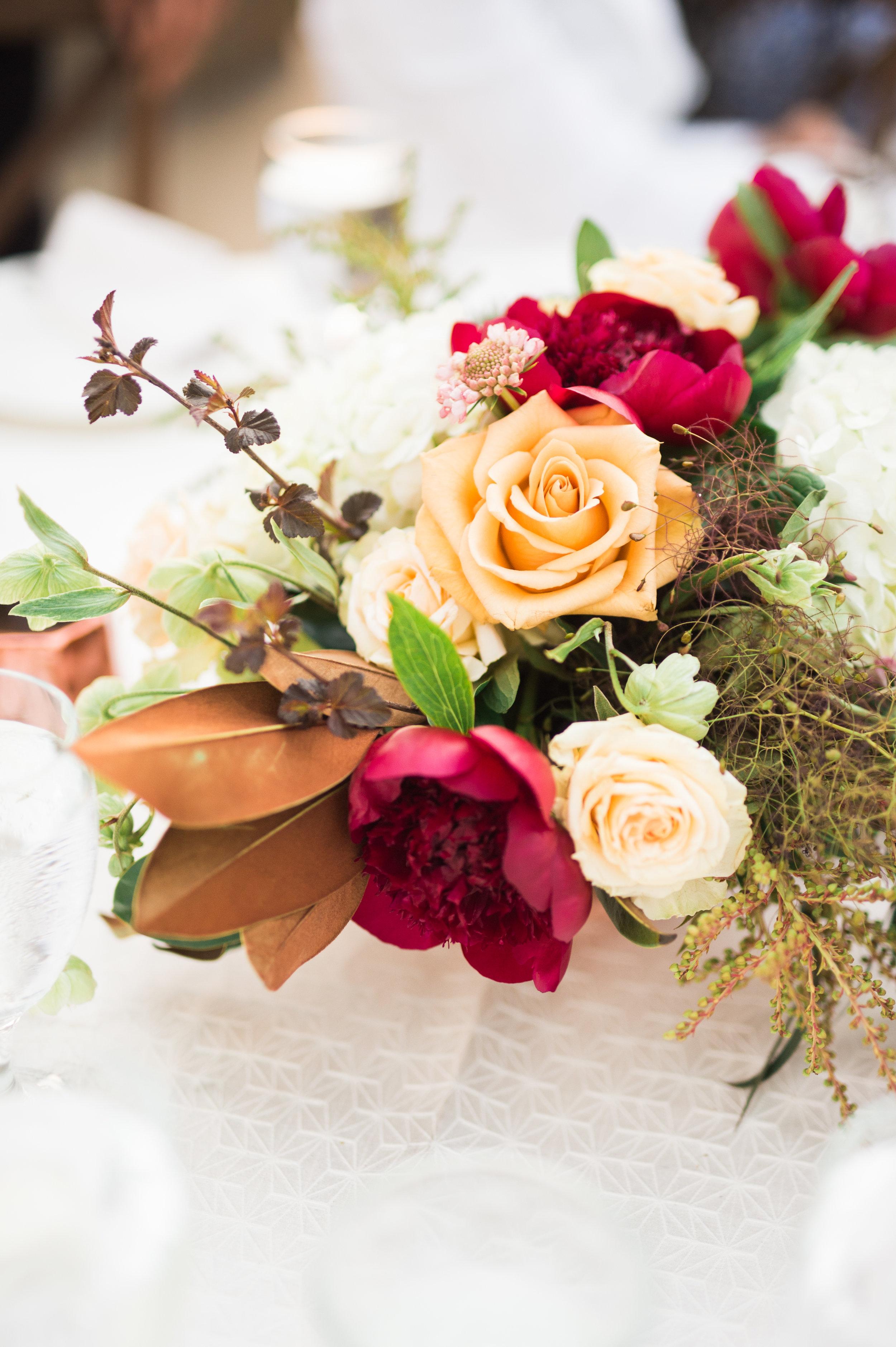 Parie Designs, Floral centerpieces,