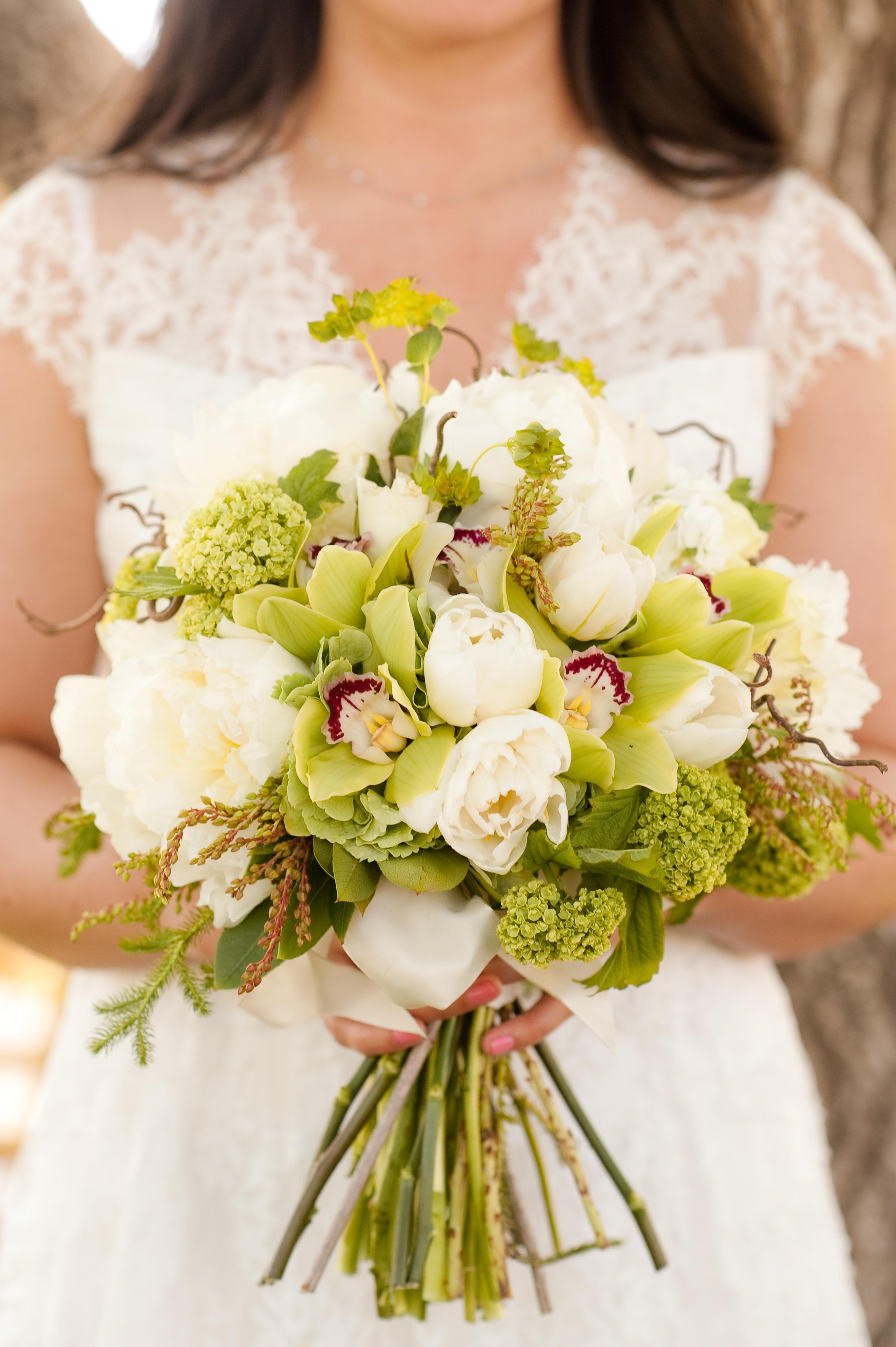 Parie Designs bridal bouquet