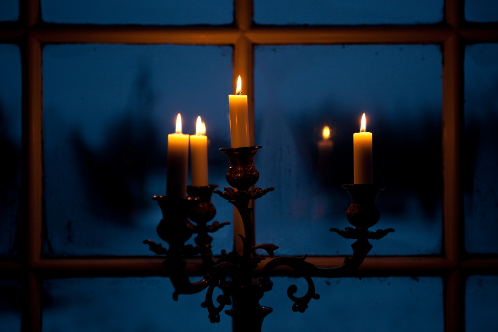 Christmas eve after dark by  Lars Plougmann