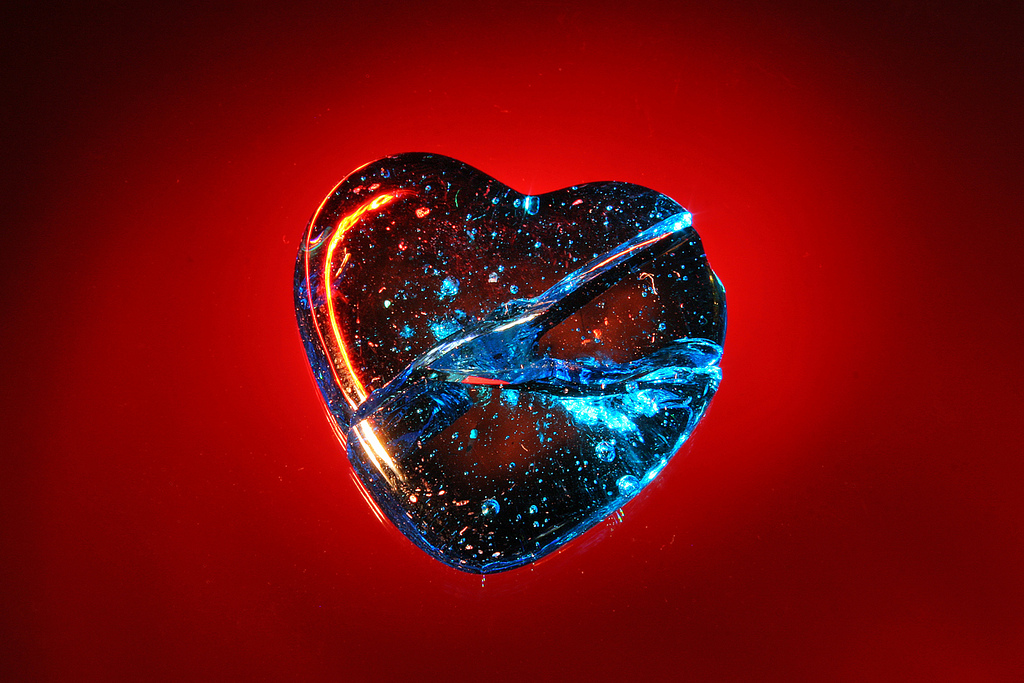 If Your Glass Heart Should Crack by  Chris OBrien