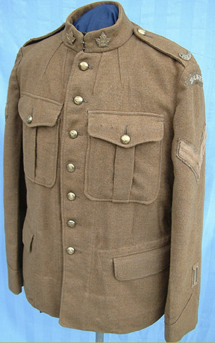 CEF tunic from the 31st Battalion