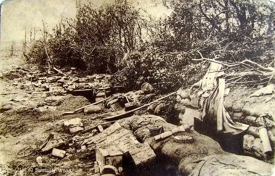 Trenches in Sanctuary Wood