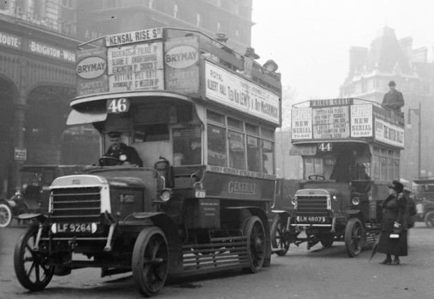 London Buses during the War