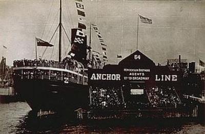 S.S. California in 1907.