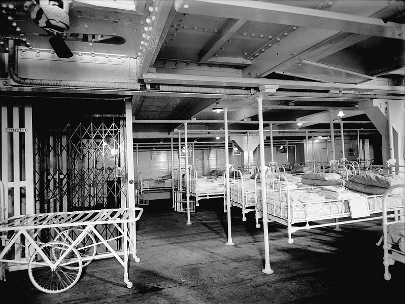 Interior: Hospital ship