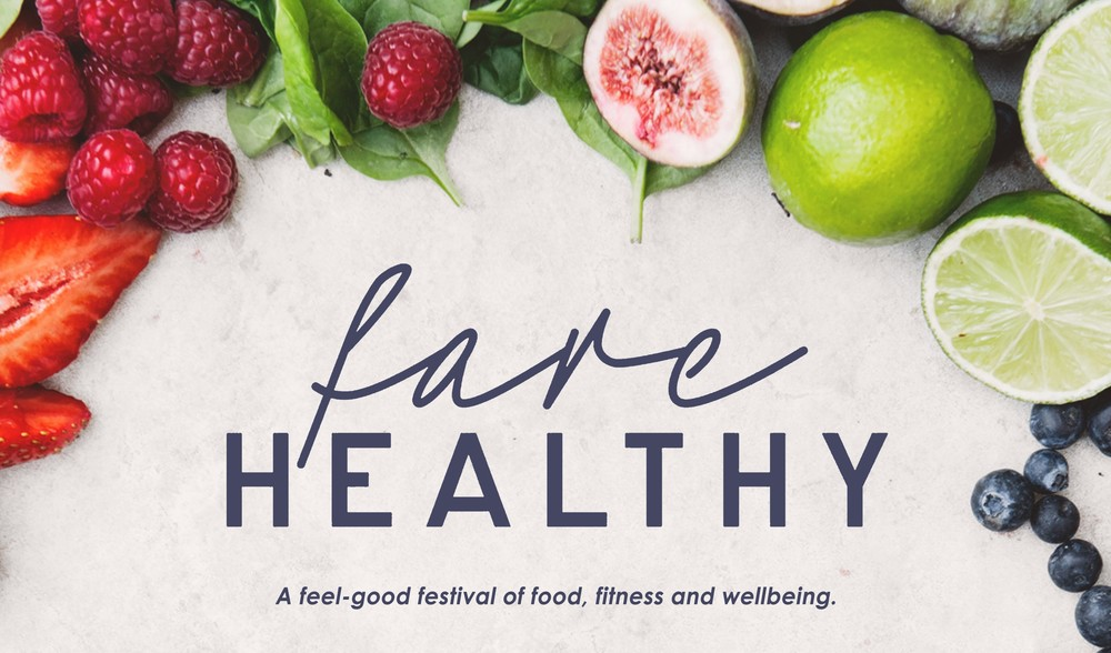 Come and visit us at Farehealthy for an amazing festival of health, wellbeing and delicious food!