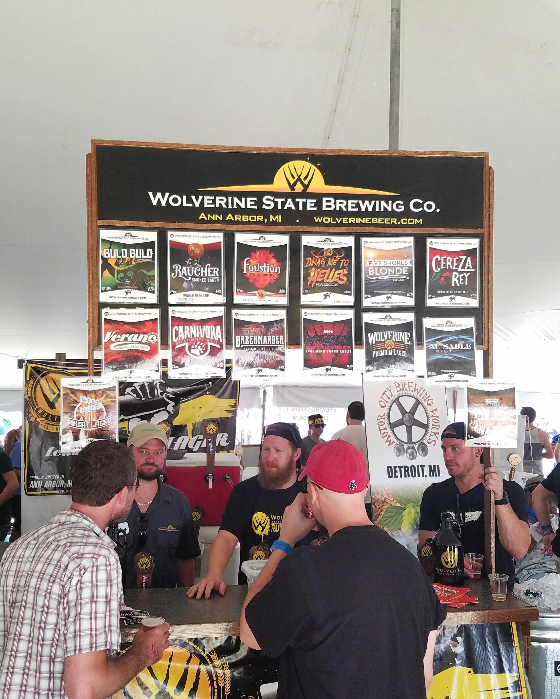 Last year's Summer Beer Festival