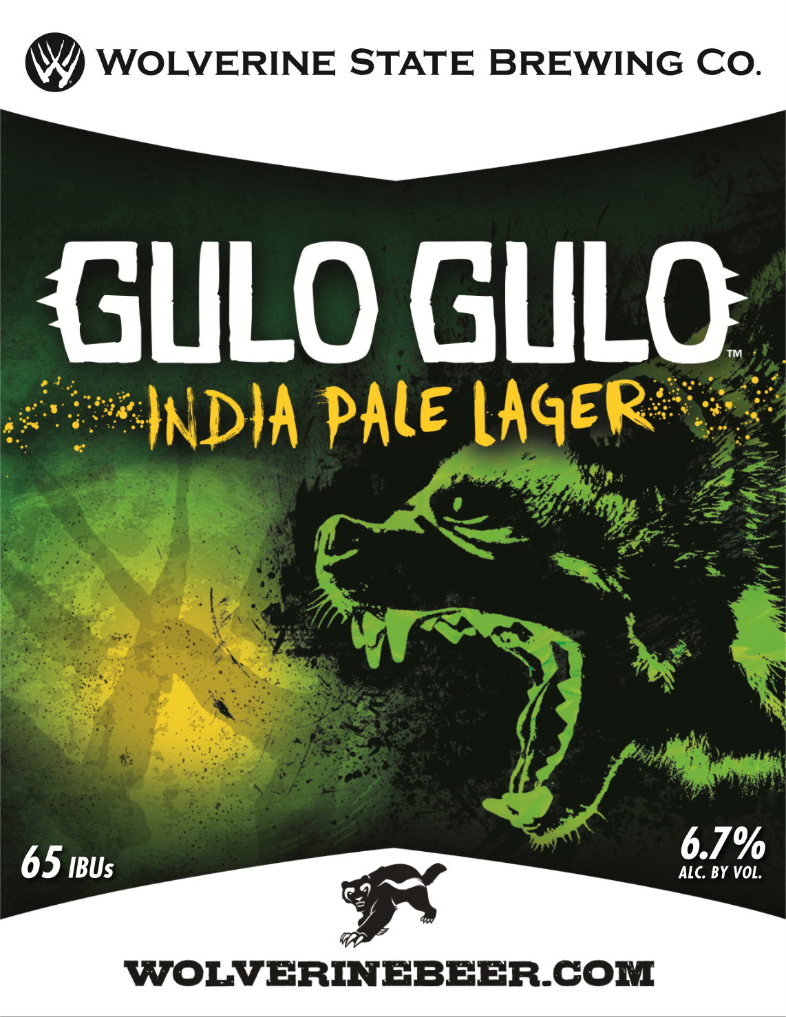 Gulo Gulo Beer Poster