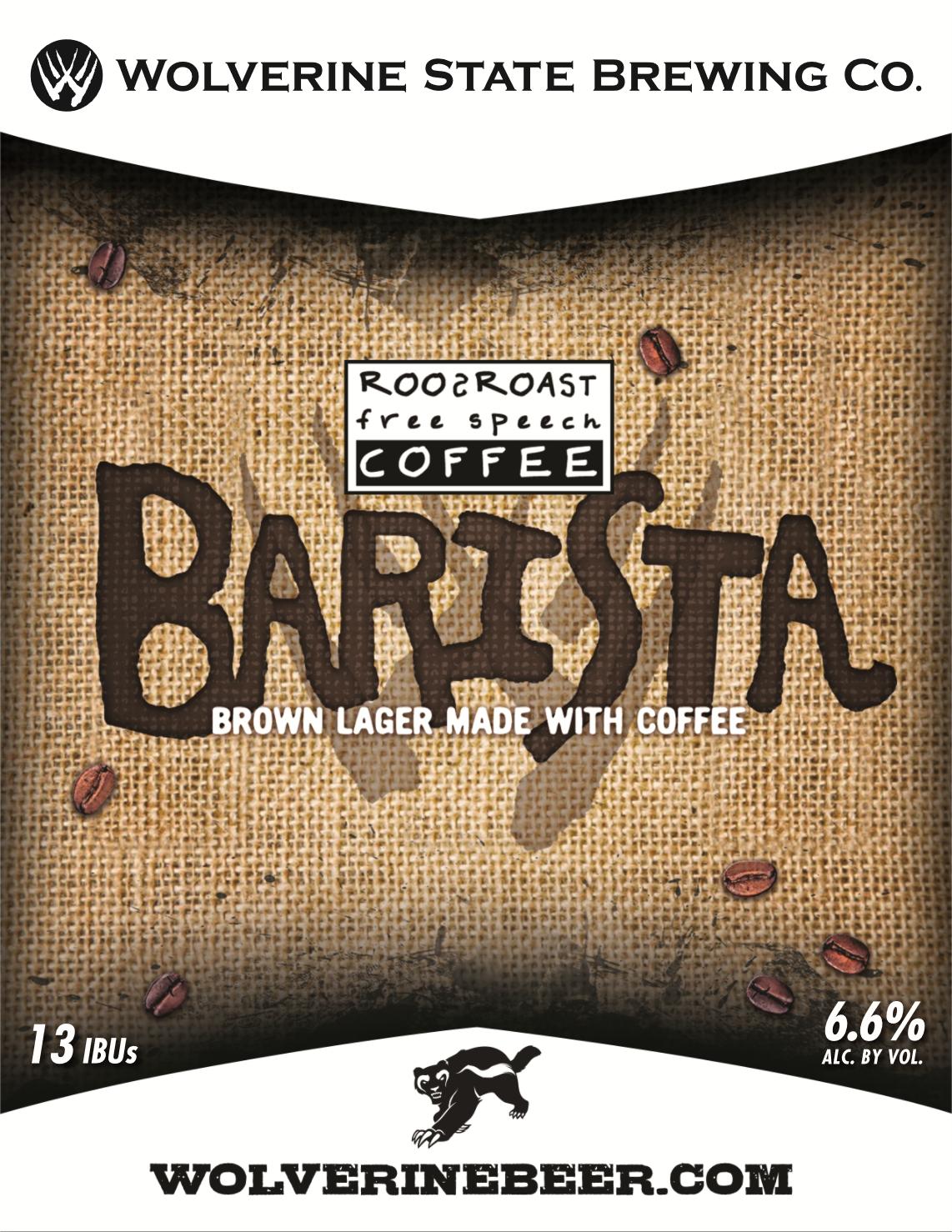 Barista Beer Poster