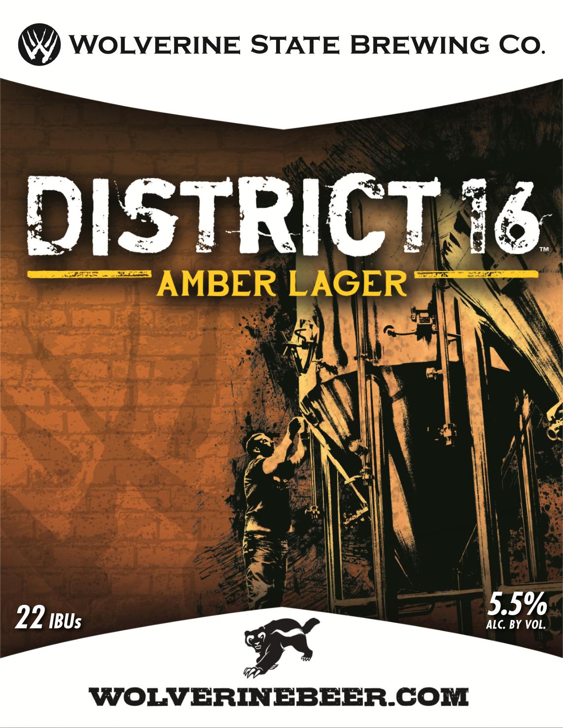 District 16 Beer Poster