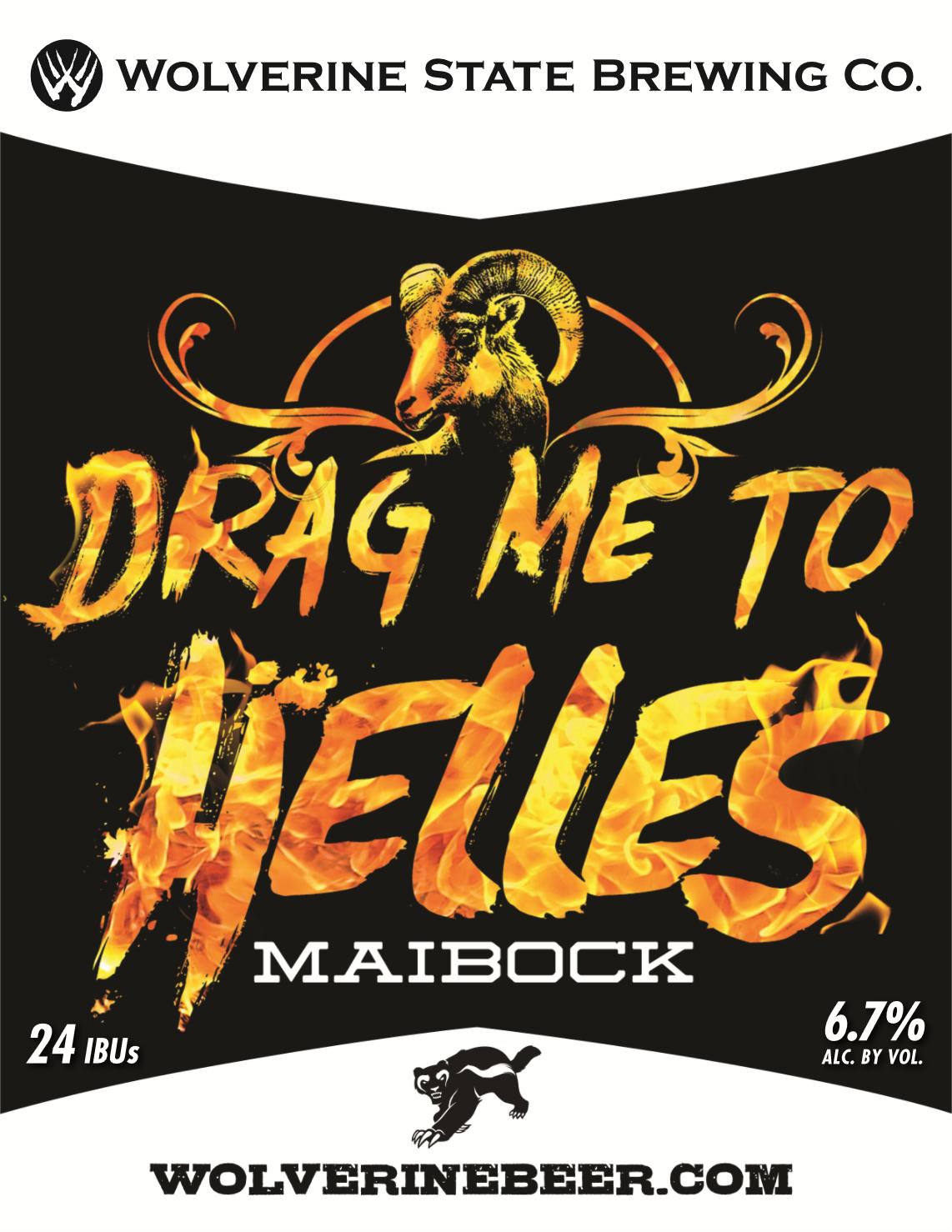 Drag Me to Helles Beer Poster