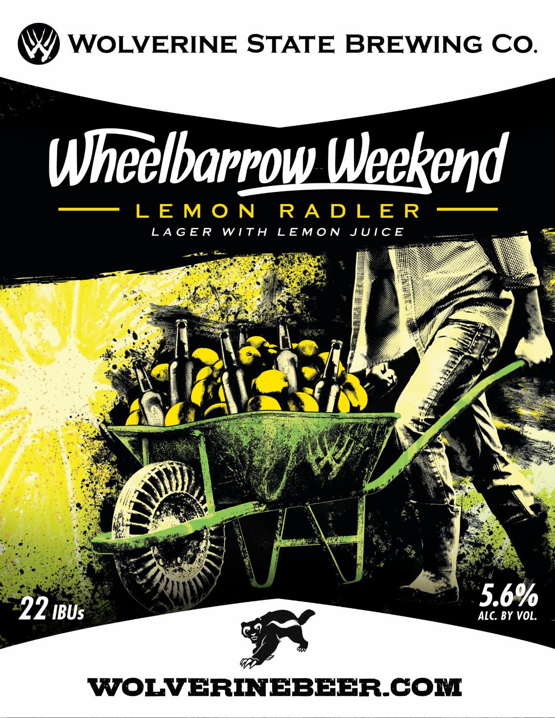 Wheelbarrow Weekend Beer Poster