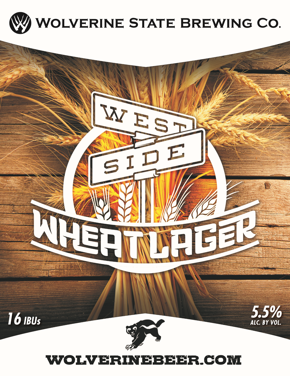 West Side Wheat Beer Poster
