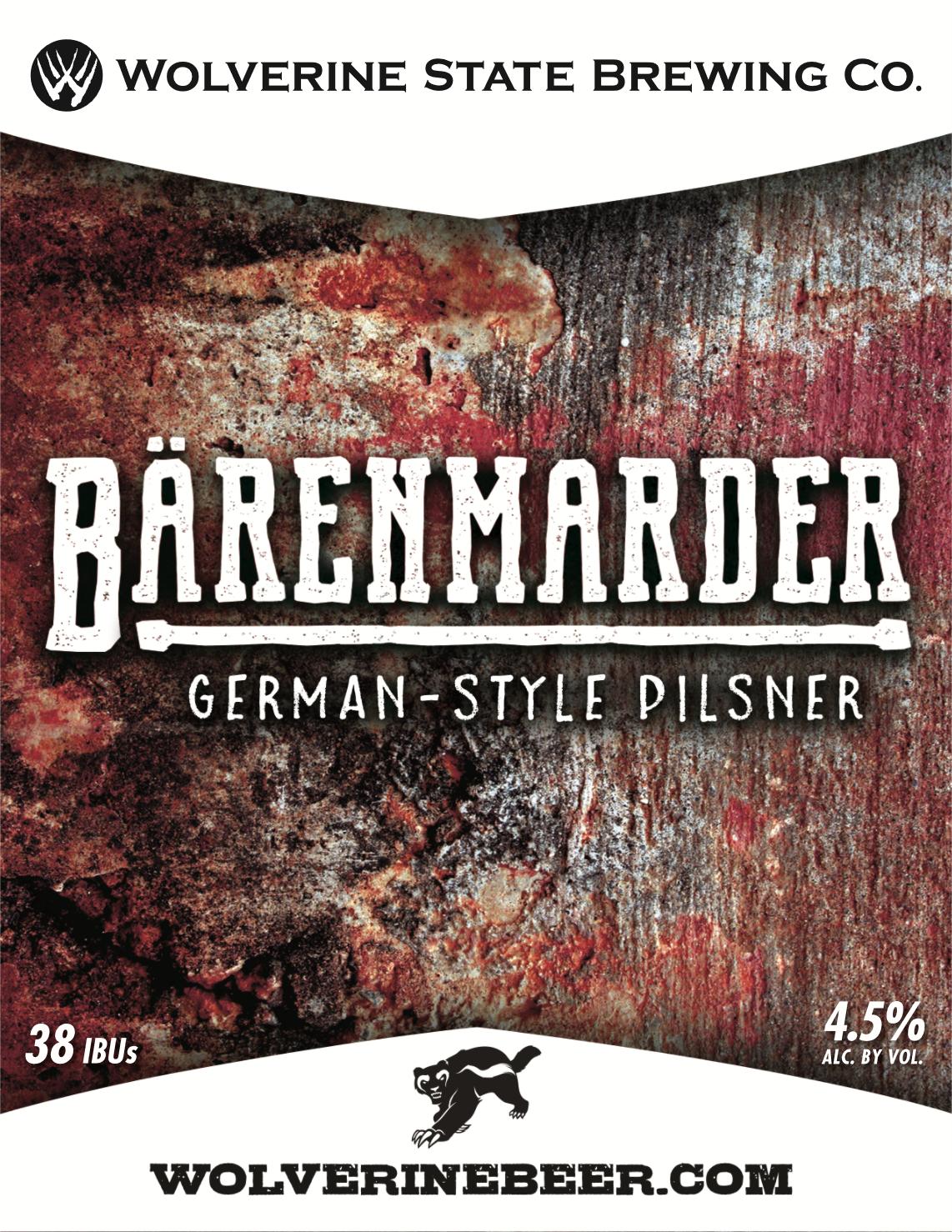 Barenmarder Beer Poster