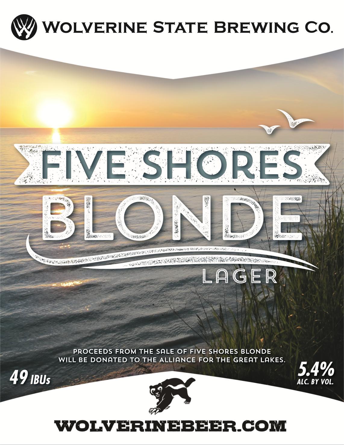 Five Shores Beer Poster