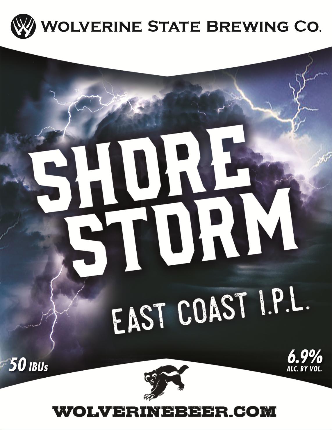 Shore Storm Beer Poster