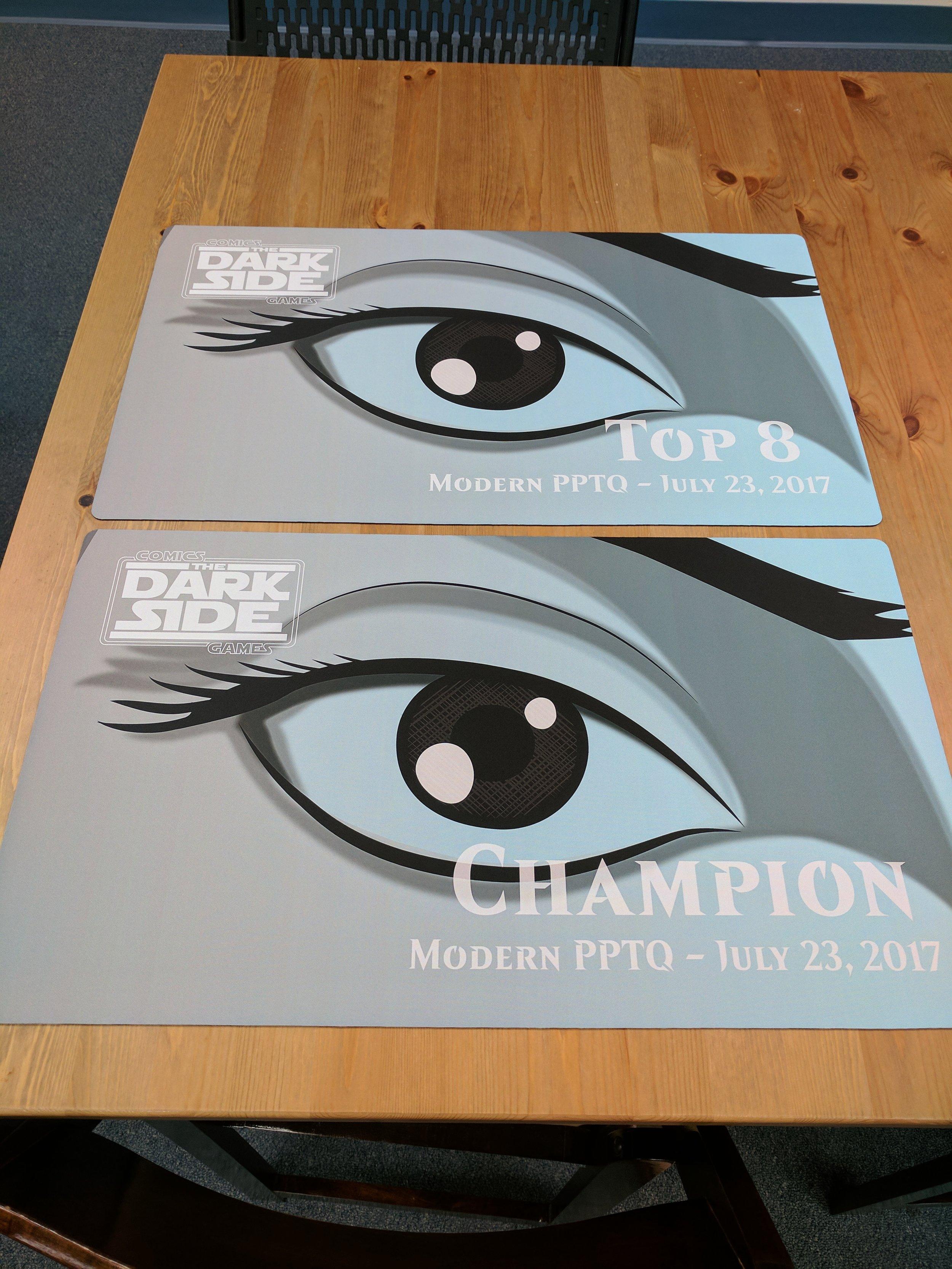 Champion & Top 8 playmats