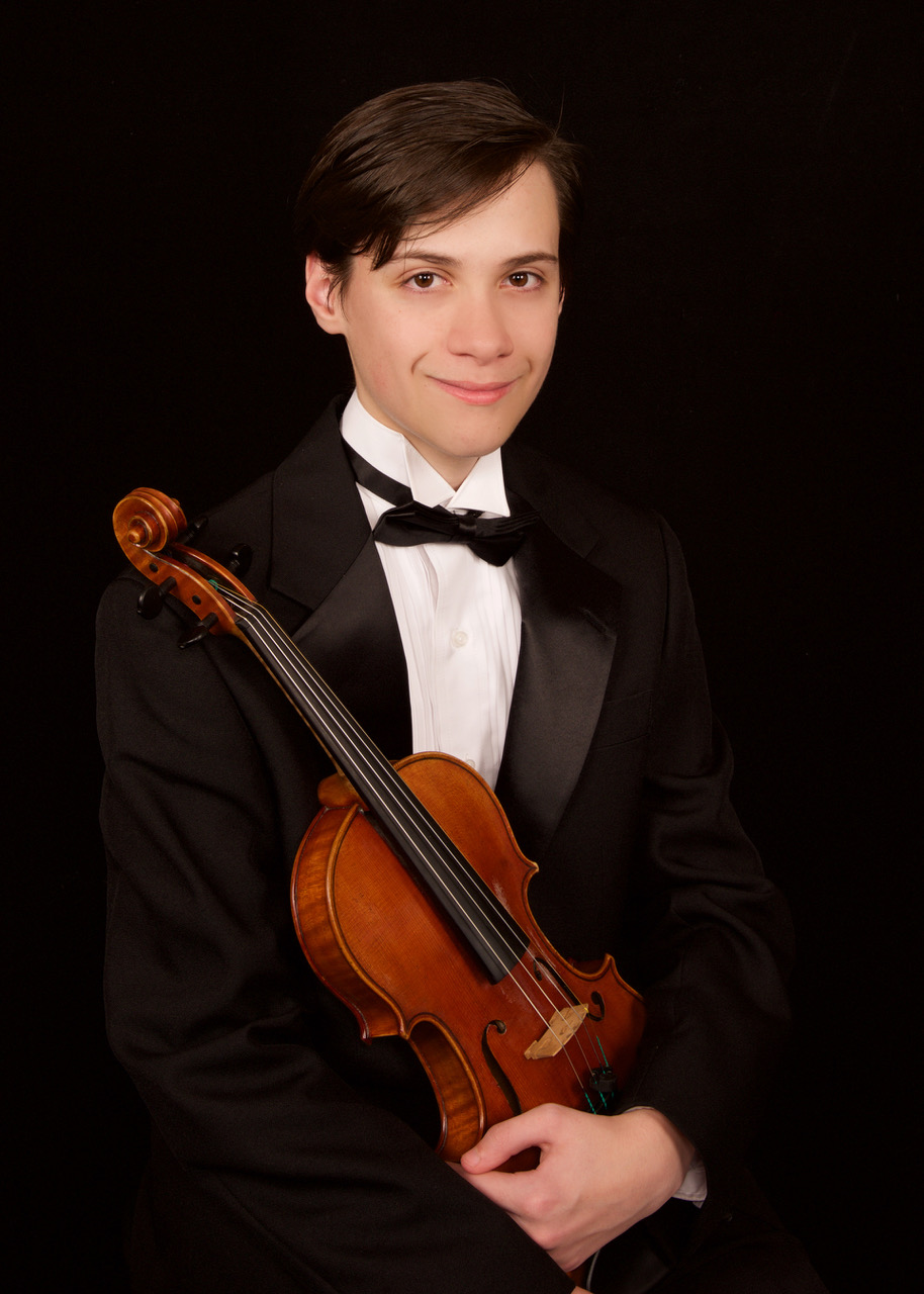 THREE WINNERS IN 2019!   Violinist Matthew Hill, who tied for First Place in the 2019 Young Instrumentalists' Competition, will perform Tchaikovsky's  Violin Concerto  with GBS on September 21, 2019. Co- winners Cameron Chase (violin) will perform  Winter  and  Summer  from Vivaldi's  The Four Seasons  at GBS' December 21, 2019 concert; and Sofia Gilchenok (viola) will perform Bartok's  Viola Concerto  with GBS on March 14, 2020.