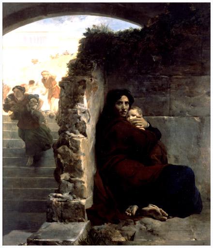 Léon Cogniet. Le Massacre des Innocents. 1824, Museum of Fine Arts, Rennes, France.