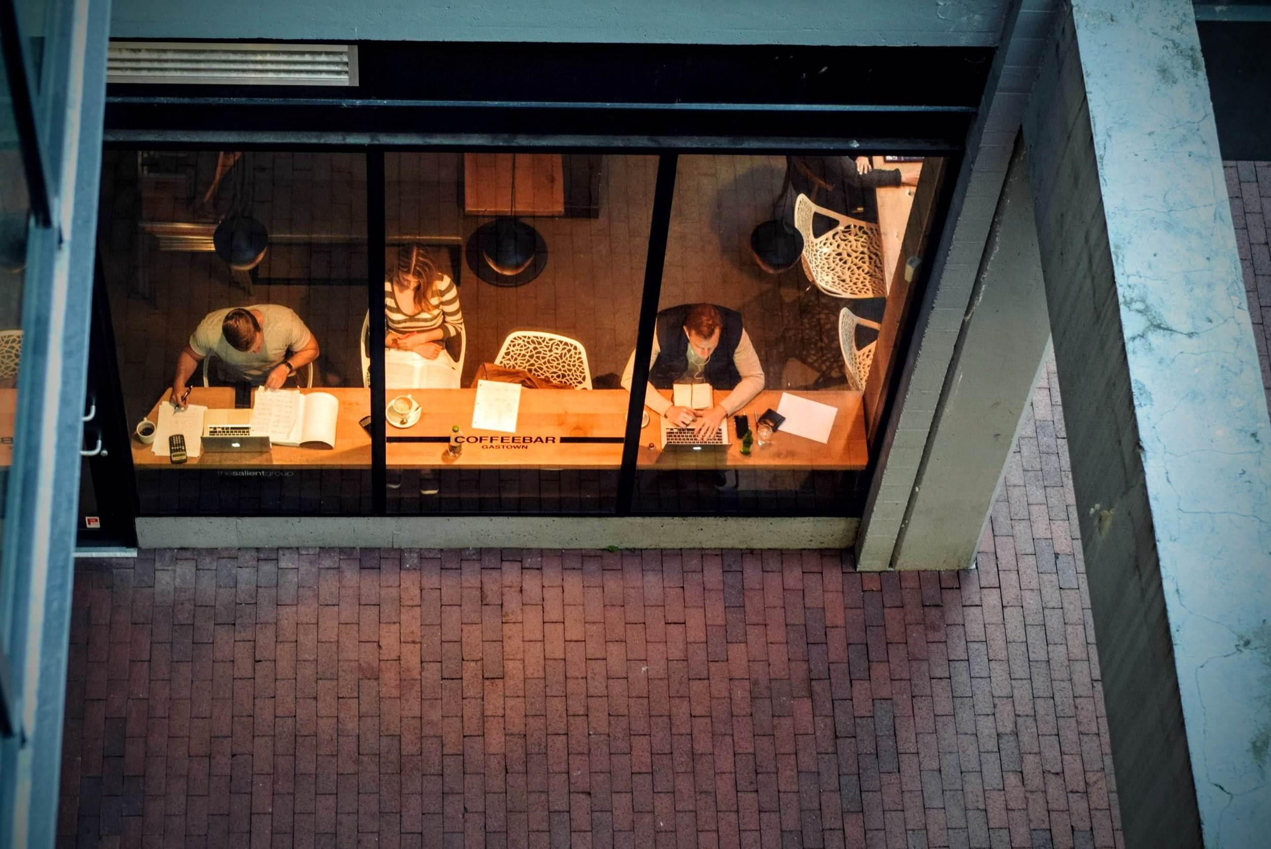 Creative writers? Photo by  Tim Gouw