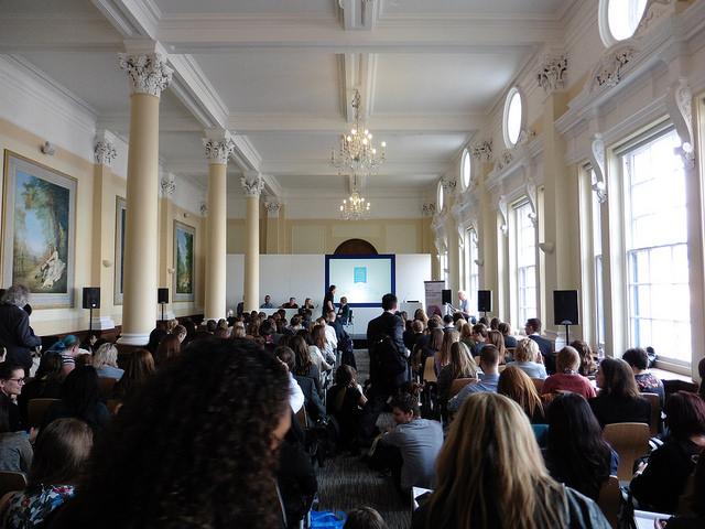 A packed seminar at the London Book Fair 2016