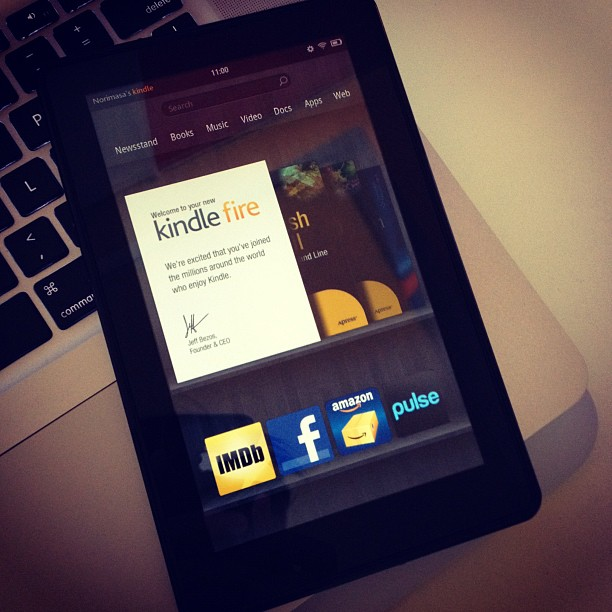 """""""Kindle Fire"""" by   nhayashida  is licensed under  CC BY 2.0"""