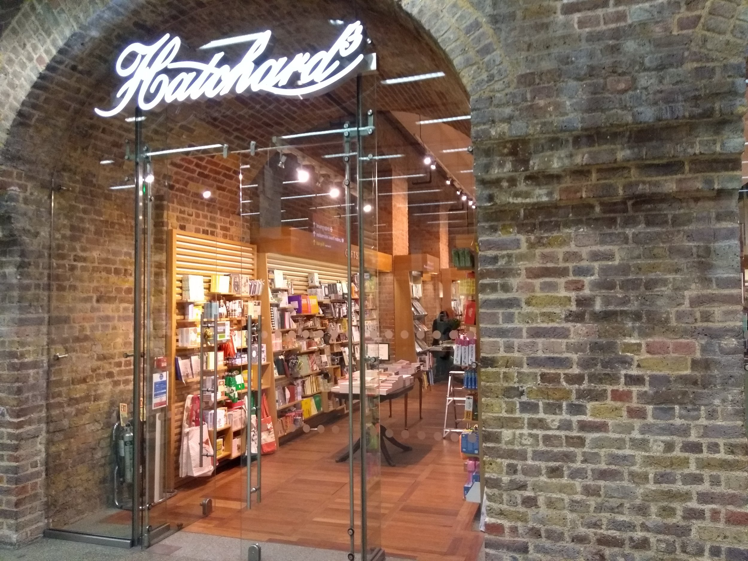 Hatchards, St Pancras, London, by Terry Freedman