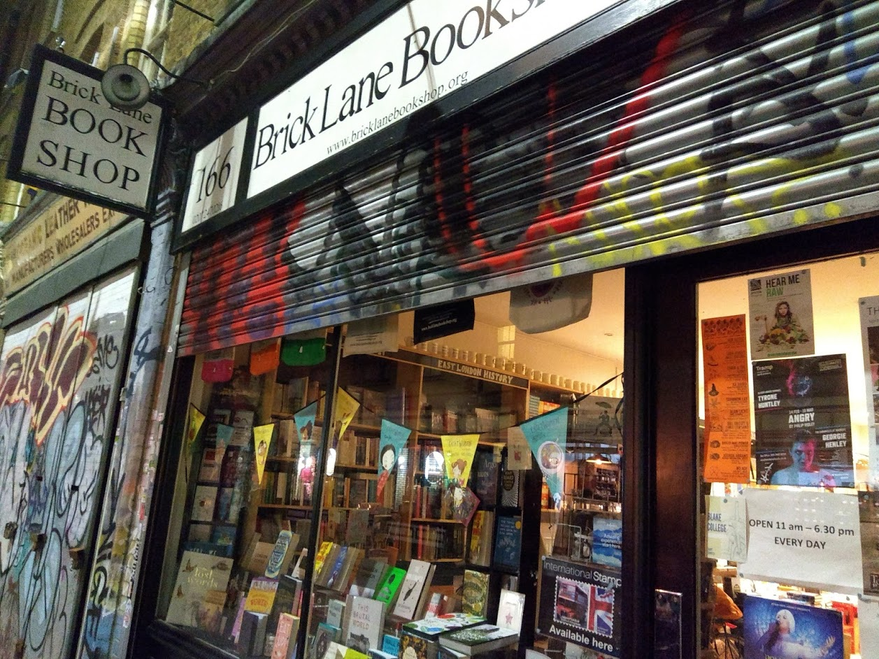 The Brick Lane Bookshop -- Photo by Terry Freedman
