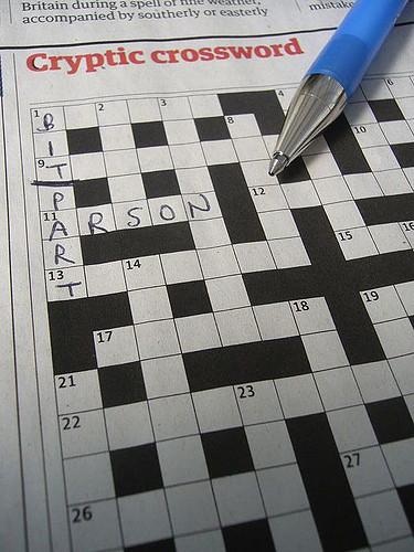 Crossword, by Terry Freedman