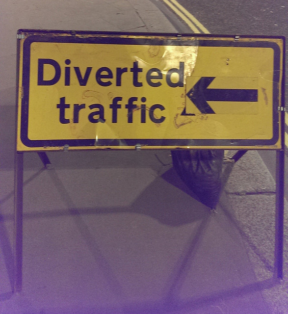 Diverted Traffic, by Terry Freedman