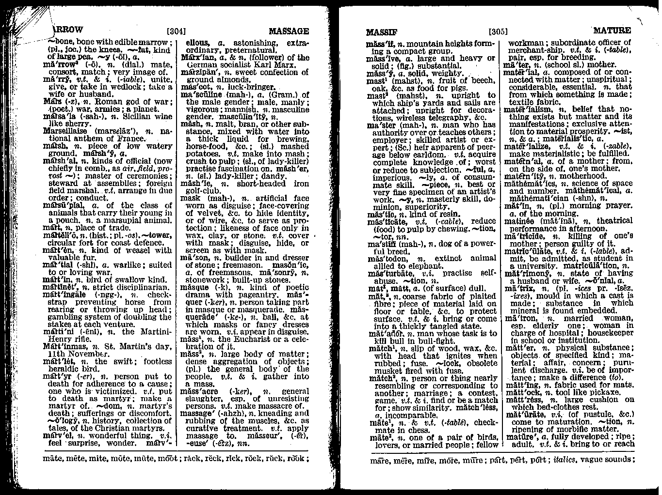 A page from Terry Freedman's School Dictionary