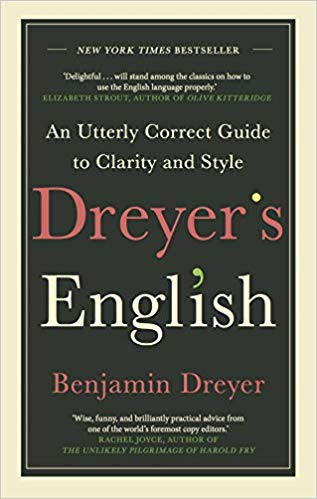 Dreyer's English: click the pic to be taken to the book on Amazon (affiliate link).