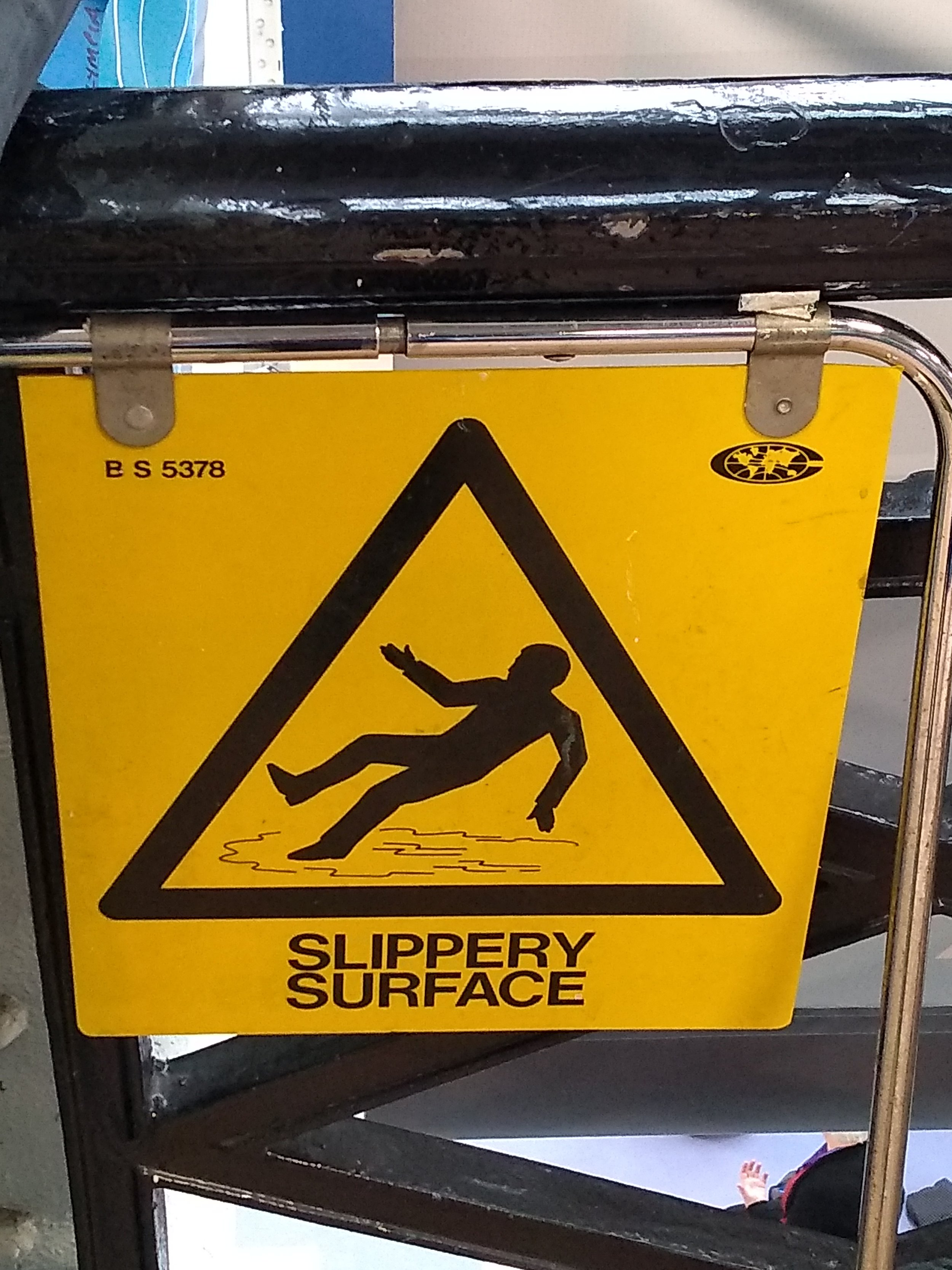 Slippery surface, by Terry Freedman