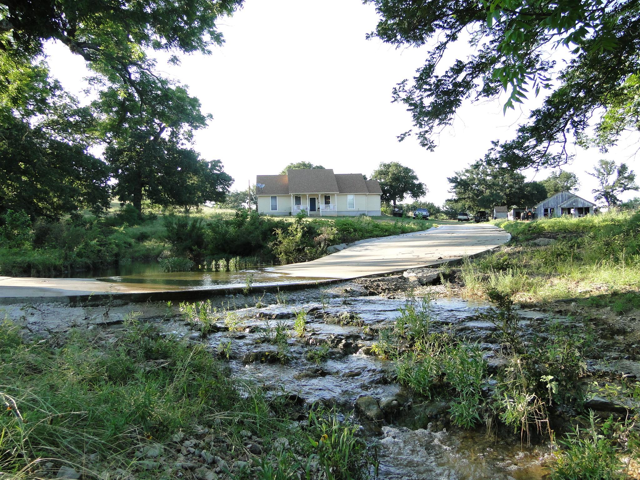 Home overlooking Love Creek