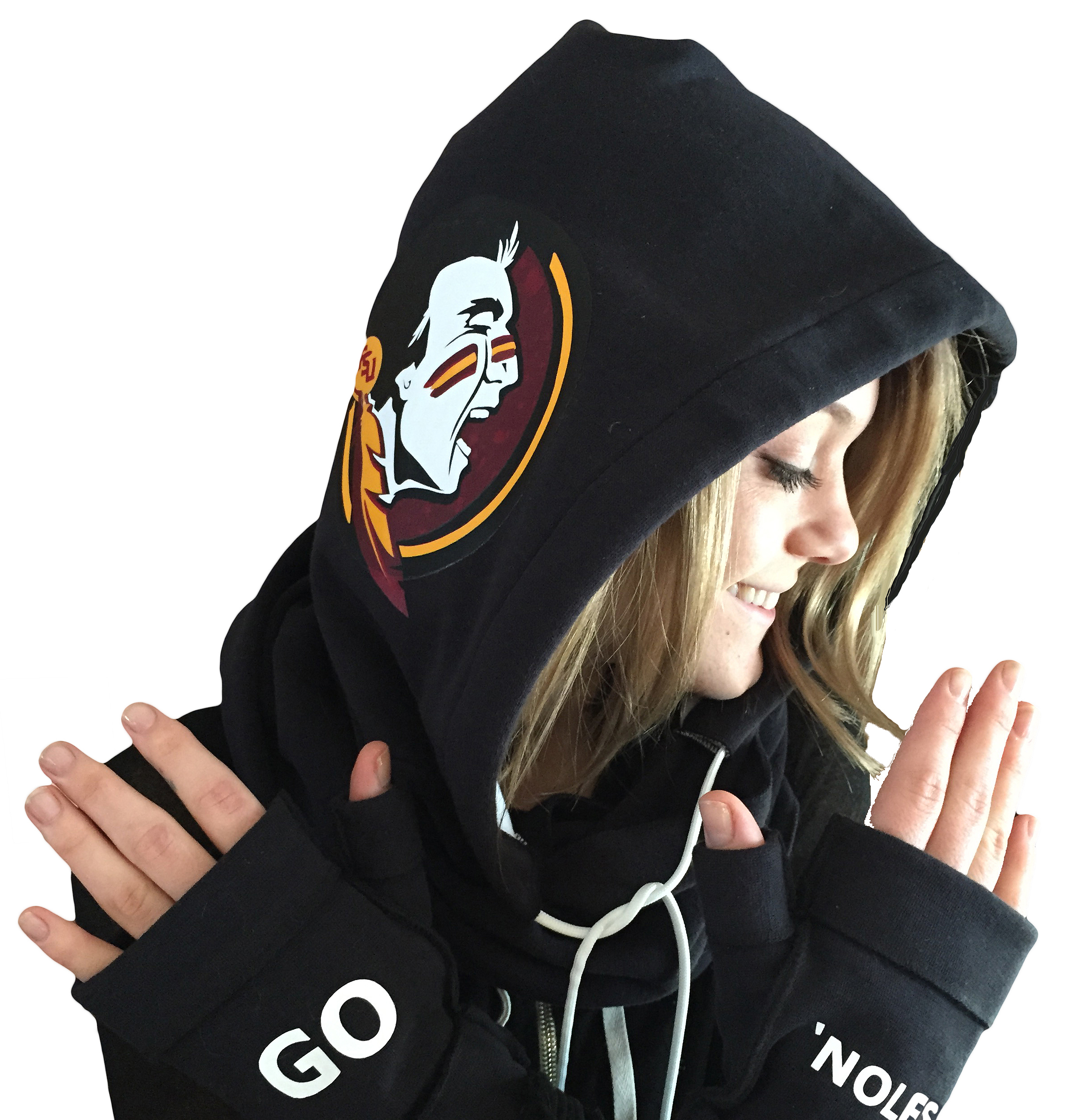 Be cool for your school! Our Team spirit HoodiSports collection can be customized in multiple colors and custom embroidery to make your statement!